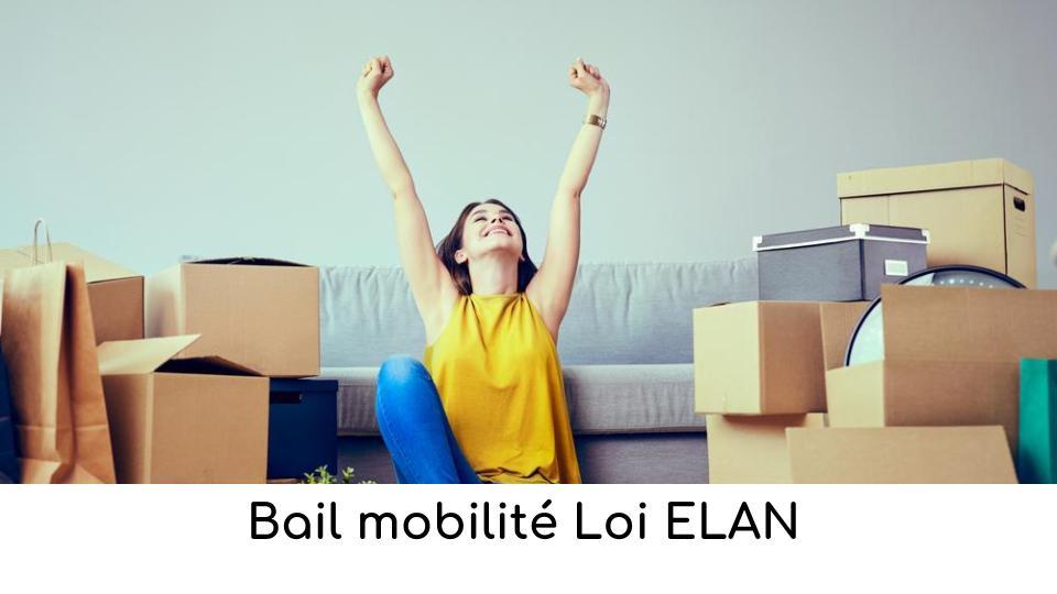 Bail mobilité Loi ELAN