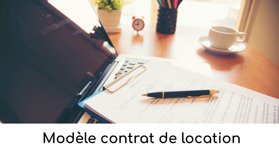 Modèle contrat de location