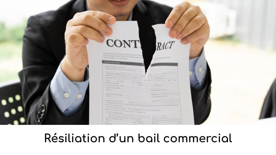 Résiliation bail commercial