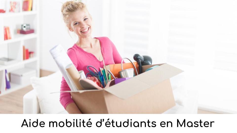Aide mobilité d'étudiants en Master
