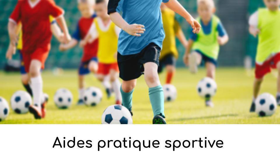 Aides pratique sportive