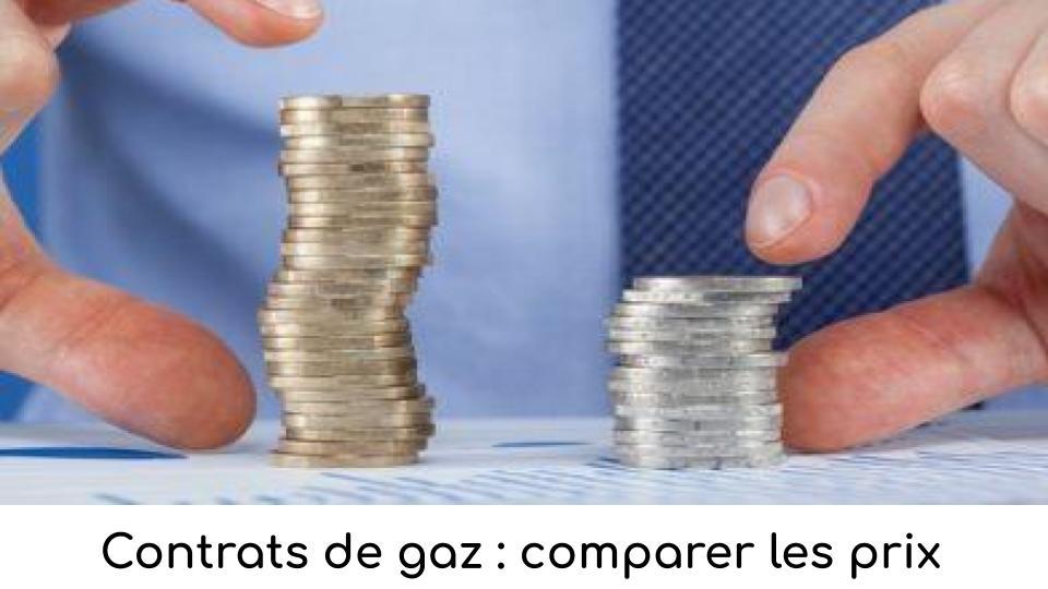 Contrats de gaz : comparer les prix