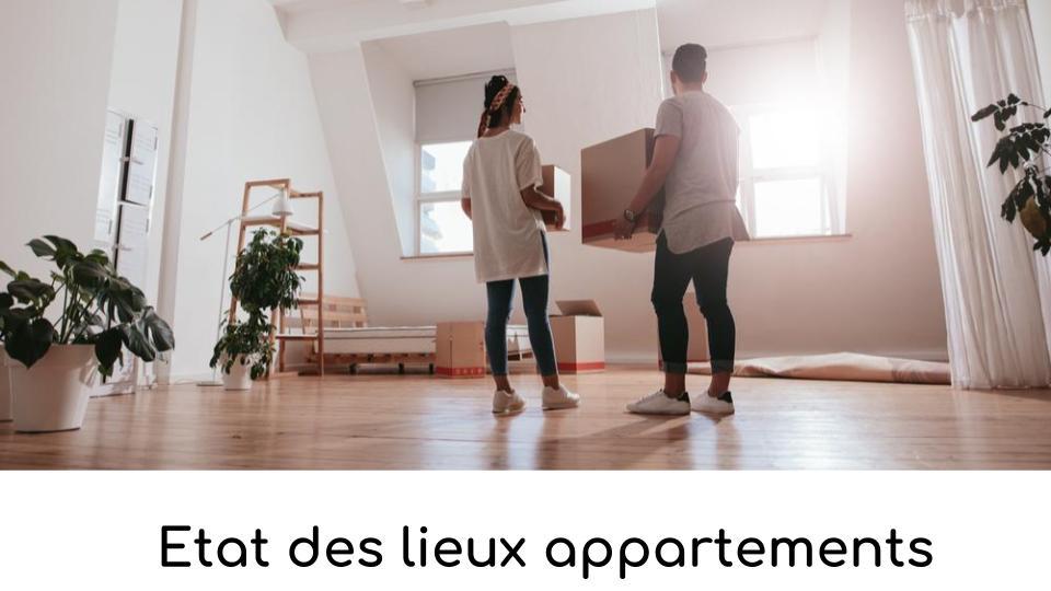 Etat des lieux appartements