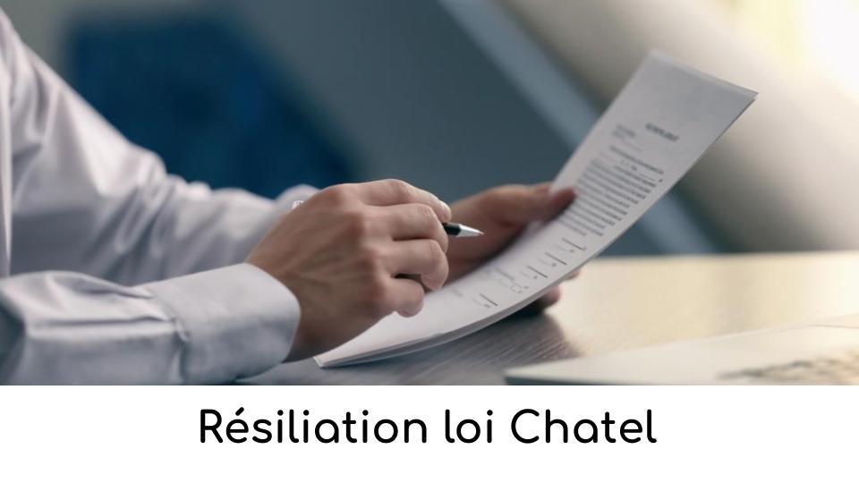 Résiliation loi Chatel