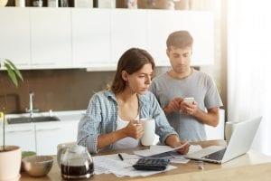 Taux d'endettement cas particuliers