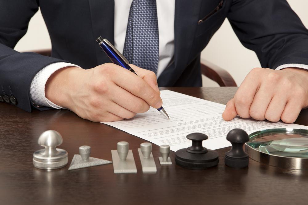 Hypothèque signature notaire