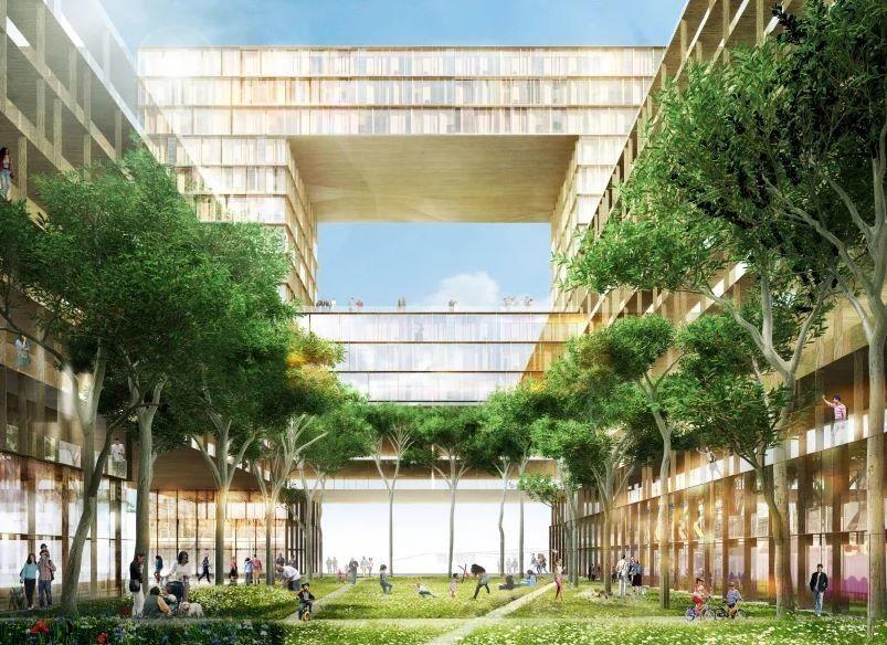 Village olympique Paris 2024