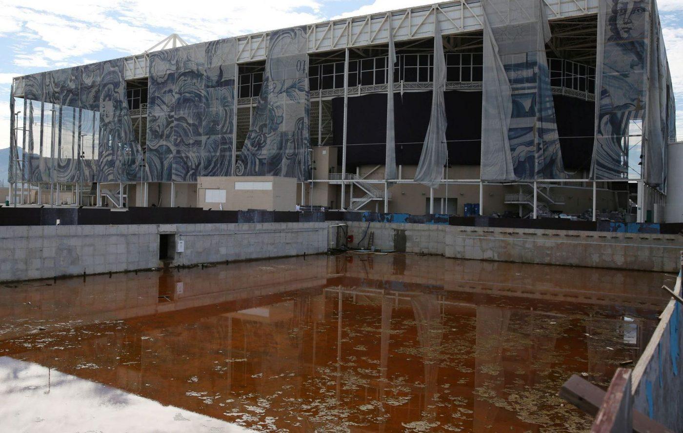 Bassin entrainement Rio 2016