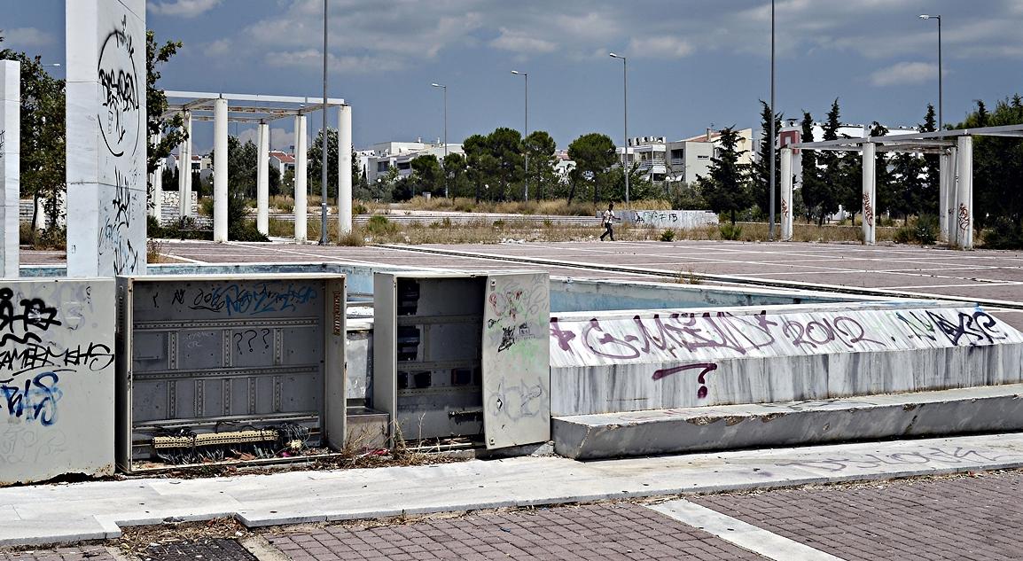 Intérieur village olympique Athènes 2004