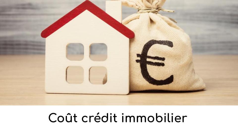 Coût crédit immobilier