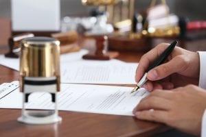 Signature immobilière à distance notaire technologie visioconférence