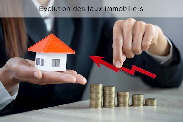 Évolution des taux immobiliers